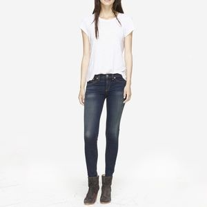 RAG & BONE Aston High Rise 10 Inch Skinny Jeans